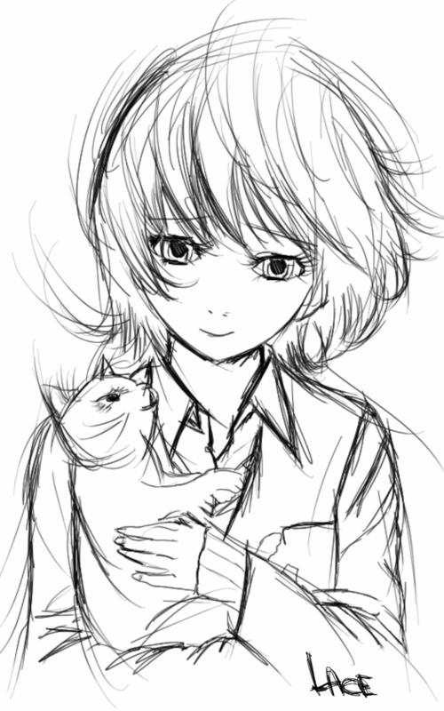 Dessin de manga - Dessin fille et garcon ...